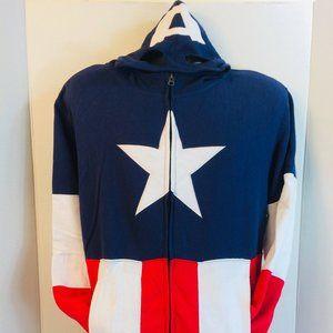 Marvel Comics Mad Engine Captain America Sweater